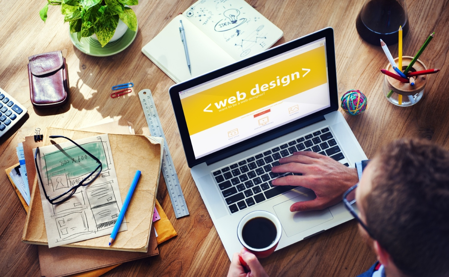 Designing an efficiently functioning website